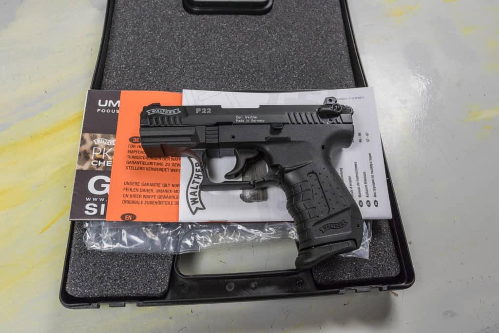 Walther P22 Schreckschusswaffe Zubehör