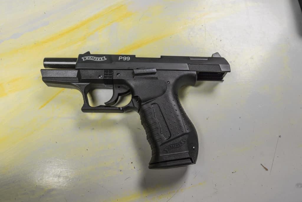 Walther P99 durchgezogen